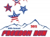 Logo for Mt. Evans Freedom Run 2011