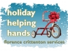 Logo for Florence Crittenton Services Holiday Helping Hands project